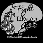 Carcinoid Cancer Fight Like a Girl Shirts