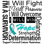 Cervical Cancer Persevere Shirts