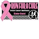 Run For a Cure Breast Cancer Shirts