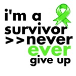 Never Give Up Non-Hodgkins Lymphoma Shirts