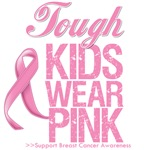 Tough Kids Wear Pink Breast Cancer T-Shirts