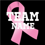 Personalize Breast Cancer Team Name Shirts