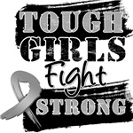 Brain Cancer Tough Girls Fight Strong Shirts