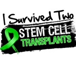 I Survived TWO Stem Cell Transplants Shirts