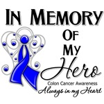 In Memory of My Hero Colon Cancer Shirts