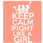 Uterine Cancer Keep Calm and Fight Like a Girl