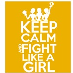 Appendix Cancer Keep Calm and Fight Like a Girl