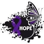 Hope Grunge Butterfly Leiomyosarcoma Shirts