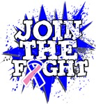 Join The Fight Male Breast Cancer Shirts