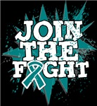 Join The Fight Ovarian Cancer Shirts and Gear