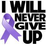 I Will Never Give Up Hodgkins Disease Shirts