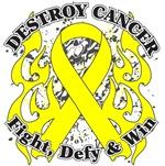 Destroy Testicular Cancer Shirts and Gear