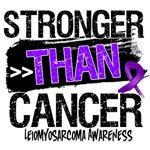 Leiomyosarcoma Cancer  Stronger than Cancer Shirts