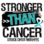 Cervical Cancer  - Stronger than Cancer Shirts 