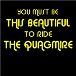 You must be this beautiful to ride 