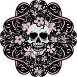 Girly Vintage Skull