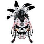 Indian Warrior Skull