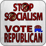 Stop Socialism, Vote Republican