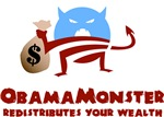 Obama Monster Redistributes Wealth