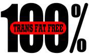 100 Percent Trans Fat Free
