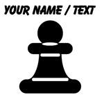 Custom Pawn Chess Piece