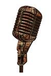 Plaid Microphone
