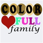 Family Color Heart