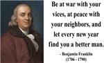 Benjamin Franklin 24