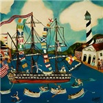 Vintage Boating Nautical Art Gifts