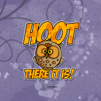 Hoot there it is