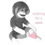 pink shoe monkey