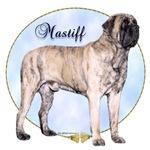 Mastiff brindle Portrait