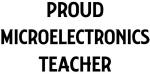 MICROELECTRONICS teacher