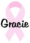 Gracie pink ribbon