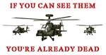 AH-64D Apache Longbows - If You Can See Them You'r