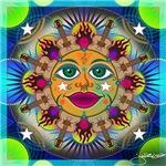 Guitar Sun Mandala