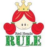 Red Heads Rule Red Head T-shirts