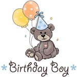 Birthday Boy Party Bear