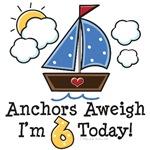 6th Birthday Sailboat Nautical Theme Party Ideas