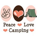 Camping Tee T shirts Gifts Presents