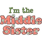 I'm the Middle Sister T shirt Gifts