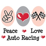 Auto Racing Race Car Fan T-shirt Gifts