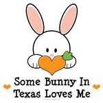 Some Bunny In Texas Loves Me T shirt Gifts