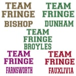 2 Sided Team Fringe with Character's Name on Back