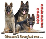 German Shepherds, you can't have just one!