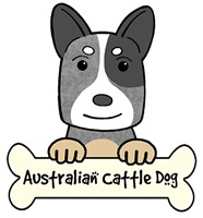Australian Cattle Dog Cartoon T-Shirts and Gifts
