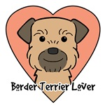 Border Terrier Lover (Grizzle and Tan)