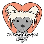 Chinese Crested Lover (Gray Chinese Crested)