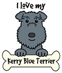 Kerry Blue Terrier Cartoon