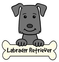 Labrador Retriever Cartoon T-Shirts and Gifts